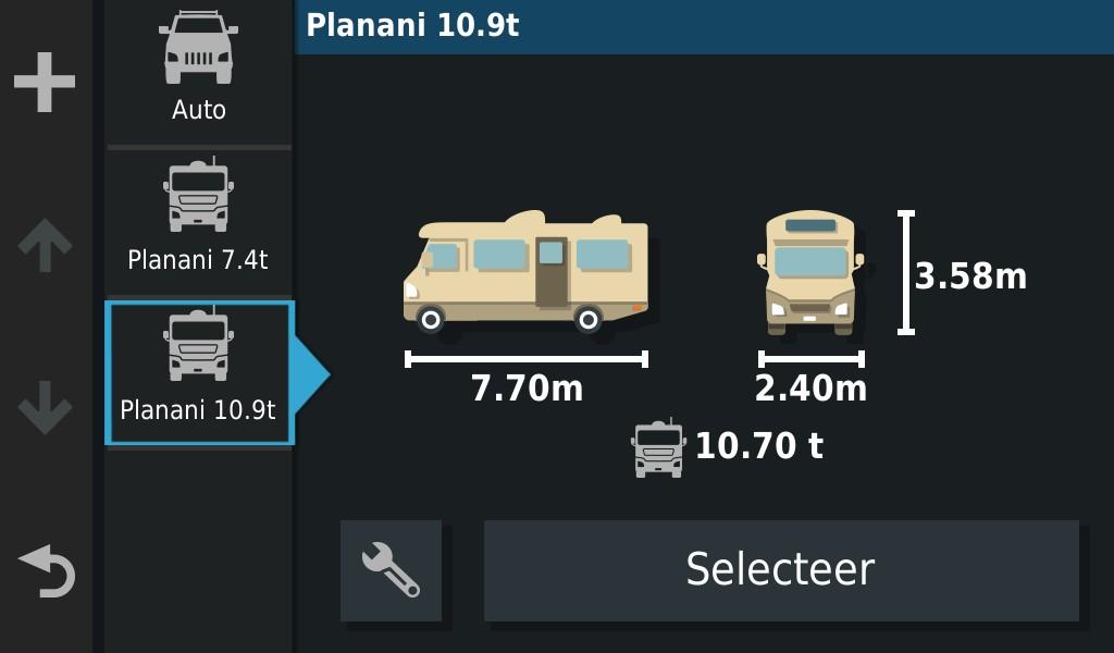 Overlander vehicle size