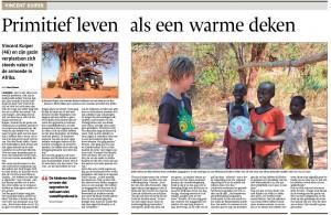 Pamoja in de krant jan 2015